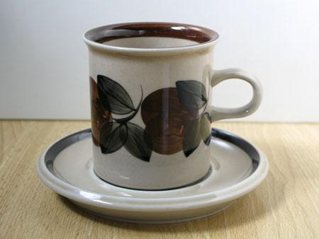 アラビア ルイージャ コーヒーカップ&ソーサー