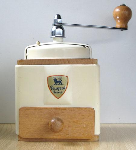 プジョー コーヒーミル クリーム 50年代に作られたもの